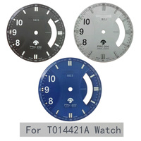 32.3mm watch dial for T014421A PRC200 male Quartz T014 Watch literal Watch accessories for T014421 Repair parts