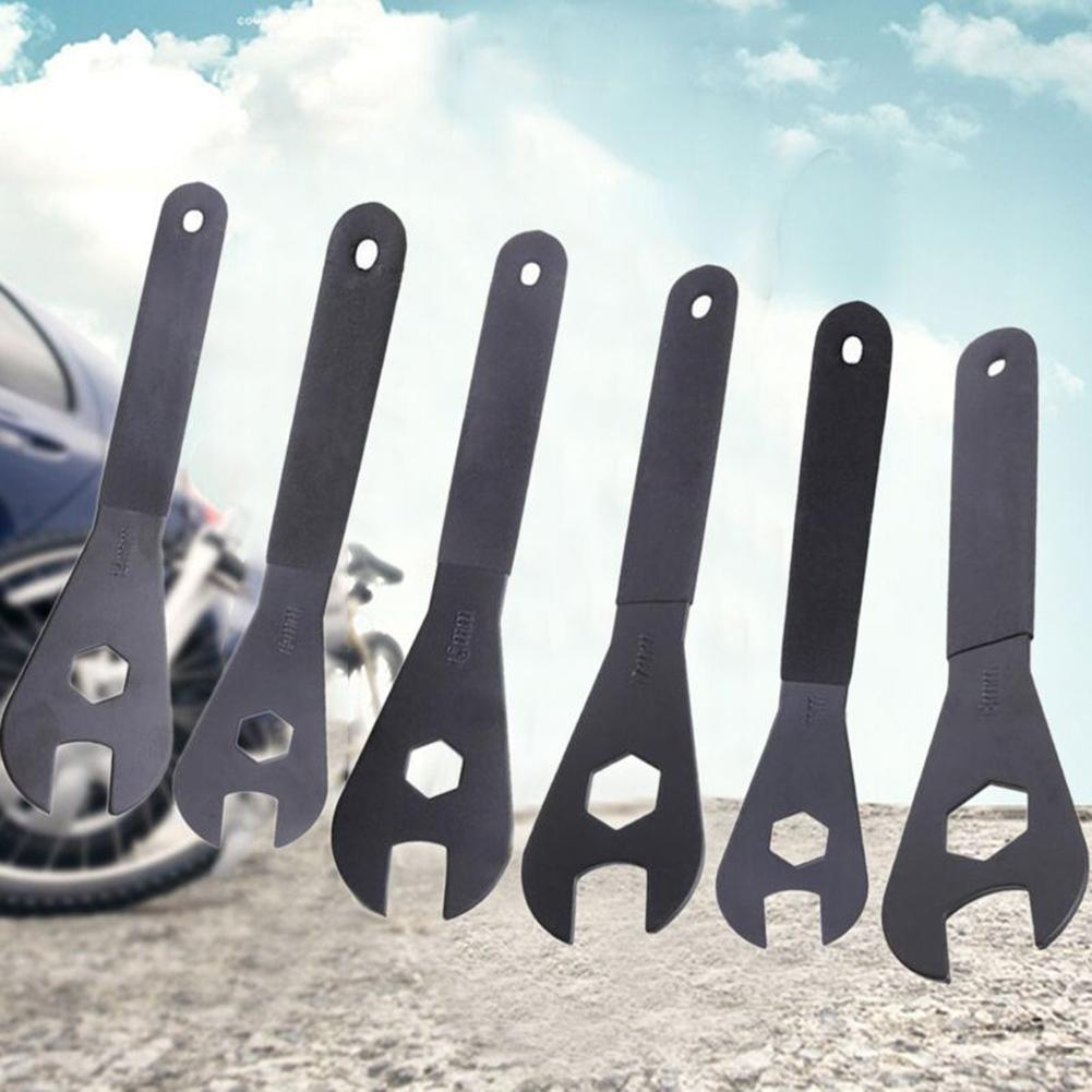 13mm//14mm//15mm//16mm//17mm//18mm Cone Spanner Wrench Spindle Axle Bicycle Tool US