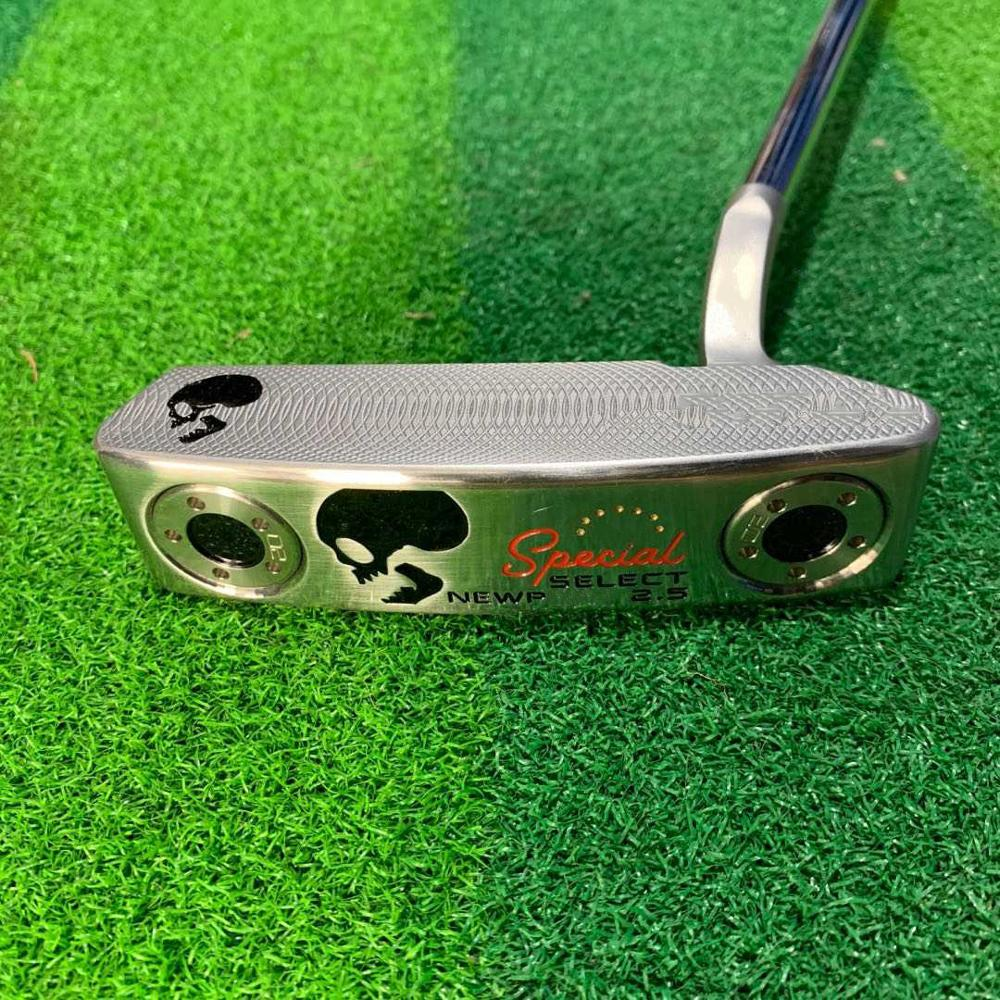 Black SKULL NP2.5 Golf Putter Golf Clubs With Steel Shaft HeadCover|Golf Clubs| - AliExpress