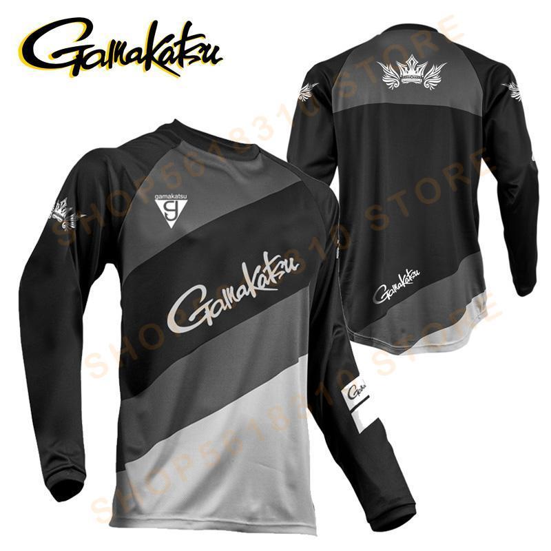 Gamakatsu одежда 2020 с длинным рукавом рыболовная одежда уличная спортивная Солнцезащитная дышащая ультратонкая летняя рубашка для рыбалки с защитой от ультрафиолета|Одежда для рыбалки|   | АлиЭкспресс