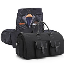 Portable Waterproof Travel Storage Bag Suitcase Shoes Shirt Organization Large Capacity Household Wardrobe Clothes  Accessories