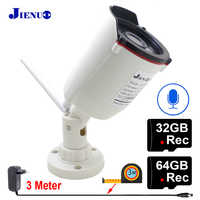 Ip Camera Wifi 1080P 32G 64G Audio Infrared Night Vision CCTV Security  Surveillance Outdoor Waterproof HD Wireless Home Camera