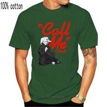 Rockoff Trade men's Call Me 티셔츠, 화이트, 미디엄-블론디 남성 티셔츠 화이트 5055979937449 플러스 사이즈 티셔츠
