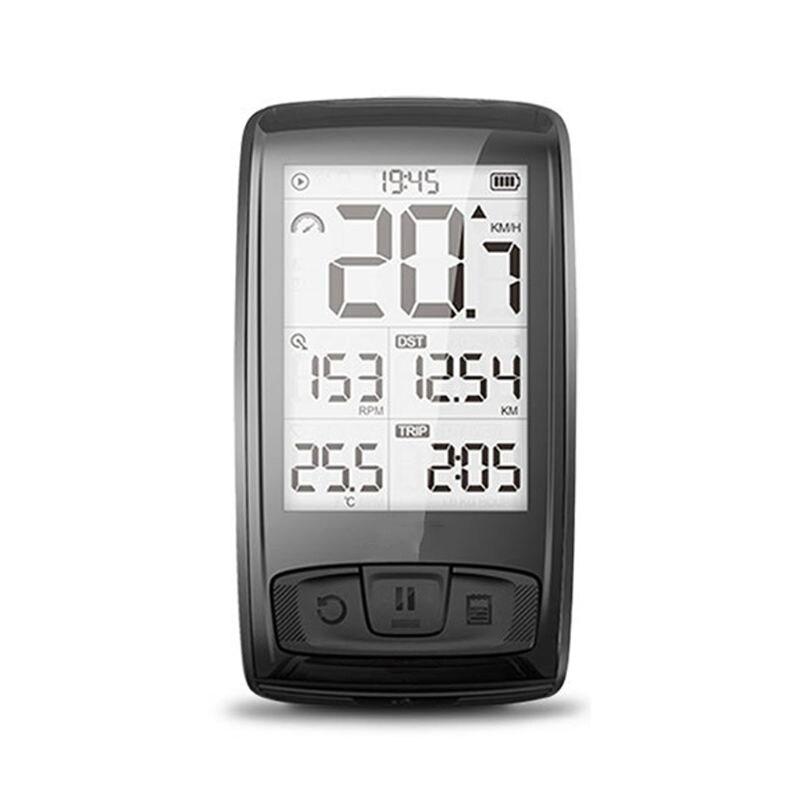 1 Set sans fil Bluetooth compteur de vitesse vitesse/Cadence capteur étanche vélo ordinateur