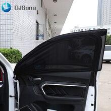 2 шт., автомобильная УФ-защита, солнцезащитный козырек для автомобиля, занавеска, окно, солнцезащитный козырек, боковое окно, сетка, солнцезащитный козырек, летняя Защитная оконная пленка