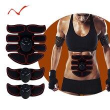 купить EMS Abdominal Muscle Trainer Massage Stimulator Exercise Slim Body Vibration Machine Loss weight Smart Fitness Equipment дешево