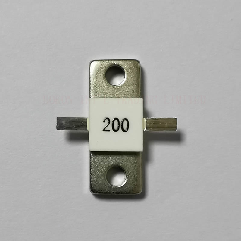 Flange Resistors 250 Watts 200 Ohms RF Microwave Resistor High Power 250W 200ohm