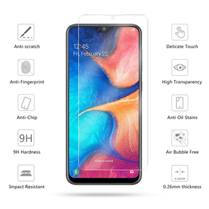 Image 4 - 3PCS Full Cover Tempered Glass For Samsung Galaxy A50 A40 Screen Protector Glass For Samsung A70 M20 M30 A20 A30 A50 A80 A60 A90