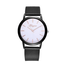 Fashion Women Watches Ladies Titanium Strap Band Analog Clock Female Quartz Wristwatches relogio feminino zegarek damski(China)
