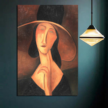 Nordic Poster Modigliani Classic Canvas Posters Prints  Abstract Wall Art Painting Decorative Picture Modern Home Decoration HD
