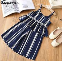 Neue Mode Mädchen Kleidung Set Ärmel Striped Zwei Pcs Kleidung Anzug für Kinder Mädchen Sumemr Tragen Casual Chiffon Kleidung Sets