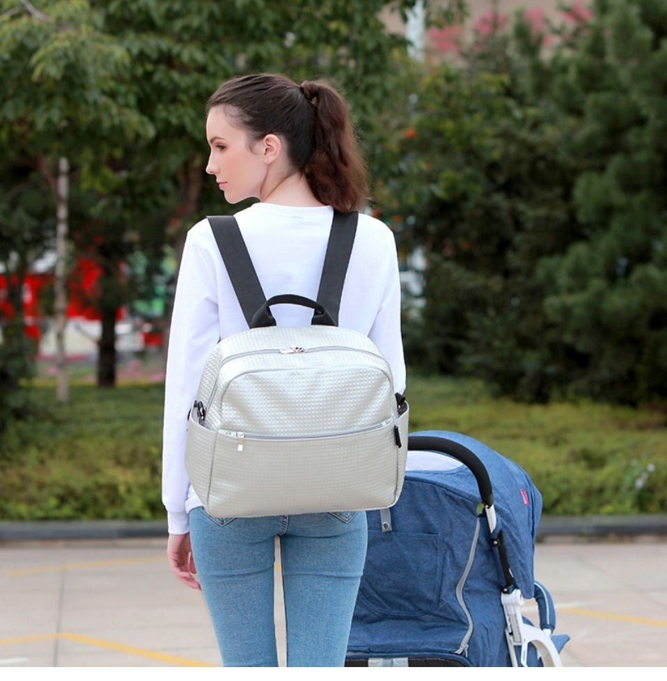 H1f56dd6fe125486db3846b42d0386ad9n Soboba Mommy Maternity Diaper Bags Solid Fashion Large Capacity Women Nursing Bag for Baby Care Stylish Outdoor Mommy Bags