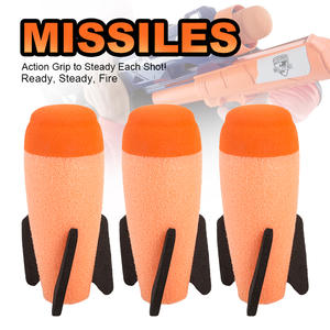 Blaster Missile Nerf n-Strike Elite Modulus Kids Children 2pcs for with Gift