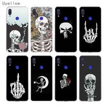 Uyellow Pirates Skull Phone Case For Redmi S2 Note 4 5 6 7 4X 5A 5P 6A 7A Y3 Xiaomi A1 A2 A3 F1 8 lite 9 SE Soft Cover