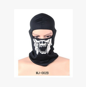 Call Of Duty Tactical Ghost Head Band Seals Skull Mask Headscarf Windproof Warm Cycling Mask