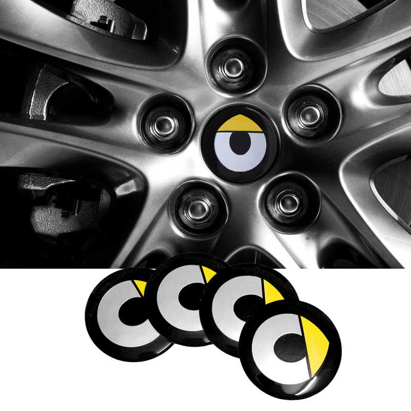 4 Stks/set 56.5 Mm Wiel Center Cover Hub Velg Caps Stickers Decals Voor Smart Logo Roadster Fortwo 450 Forfour Brabus forspeed