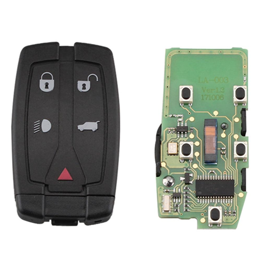 XRSHKEY 5 кнопочный дистанционный Автомобильный ключ 315 МГц 46 чип с лезвием HU101 для Land Freelander 2 LR2 Sport для Land Freelander 2