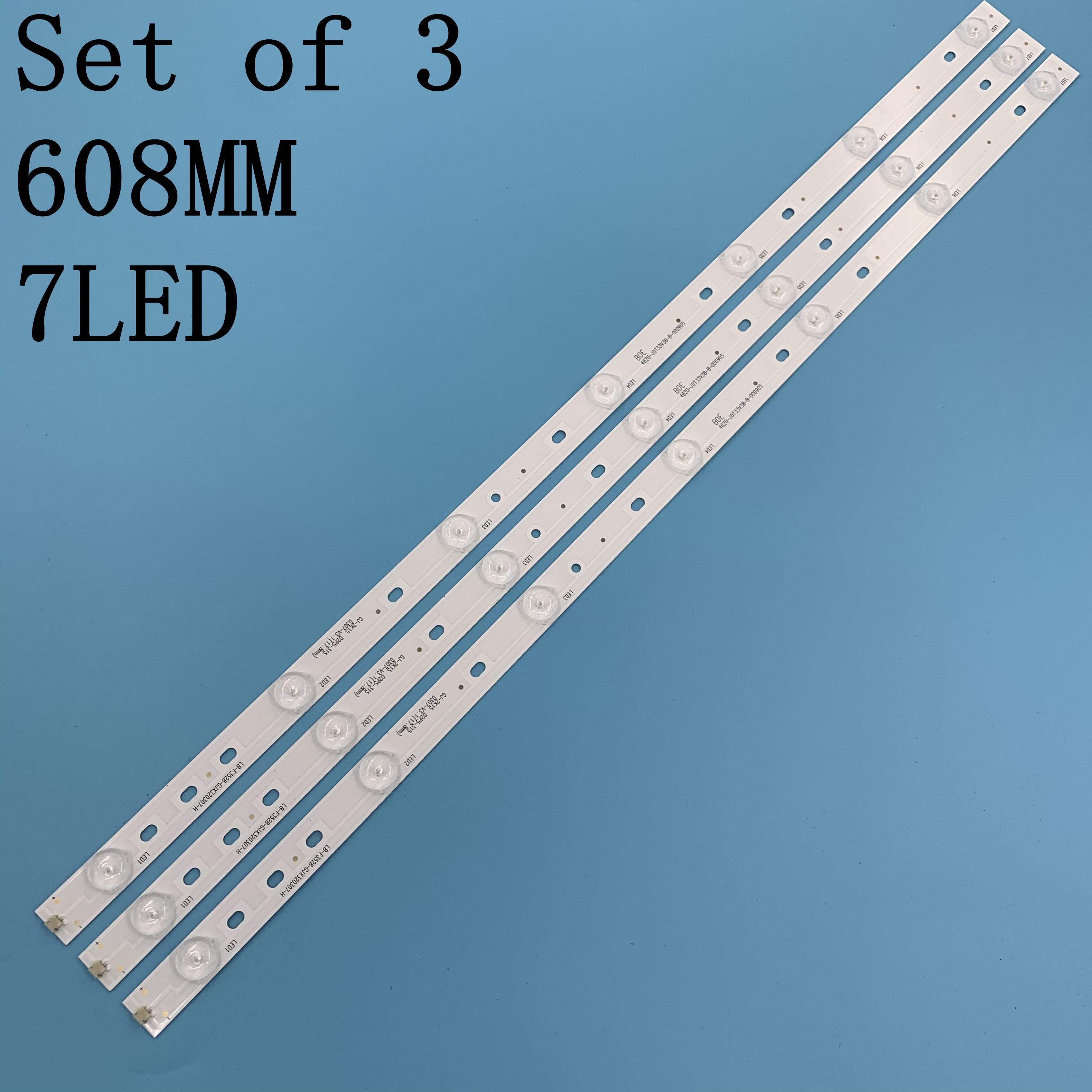 1set=3pcs 100%NEW LBM320P0701-FC-2 LED Backlight Strips TPT315B5 LB-F3528-GJX320307-H 32E200E