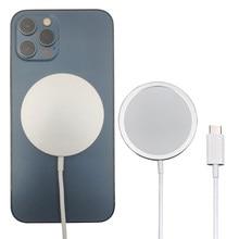 Chargeur magnétique sans fil 15W Original pour iPhone 12 Pro Max, 12 Pro, Qi, rapide, adaptateur Mini USB C PD Magsafing