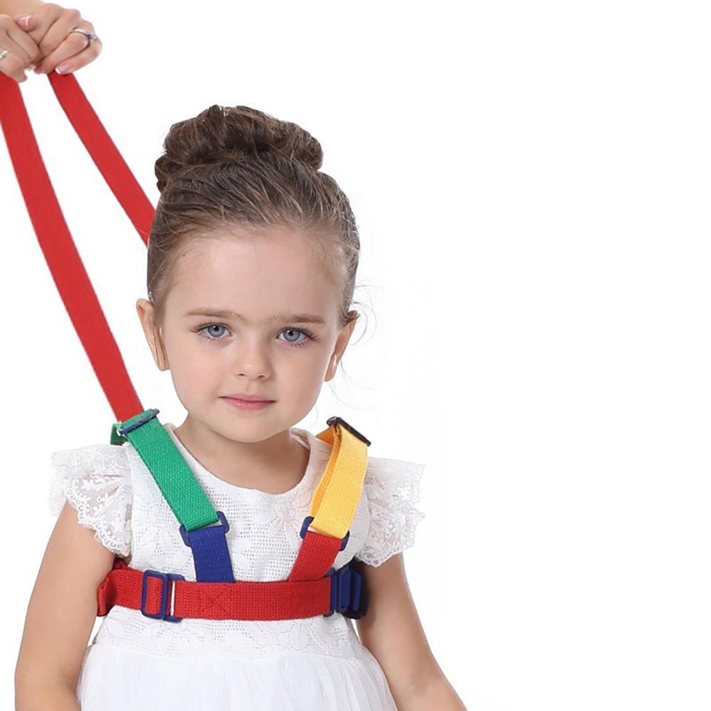 Kids Baby Walking Harness Walking Belt Kids Toddler Learning Helper Anti-lost Safety Harness Strap Baby Walking Assistant