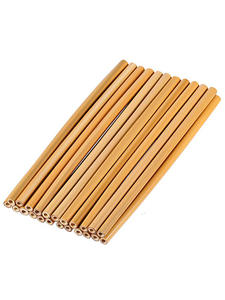 4 шт./компл. бамбуковые соломенная многоразовая соломенная 23 см органический бамбуковая Питьевая соломинки натуральные деревянные соломки ...