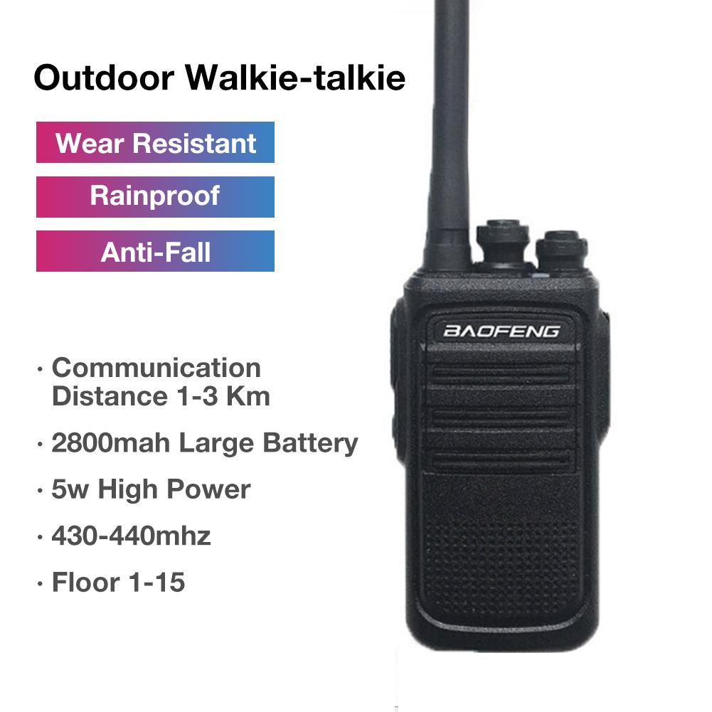 BAOFENG Original BF-N8 Outdoor Walkie-talkie N8 Portable Hand-held Two-way Radio For Hotel Construction Site Outdoor Occasions