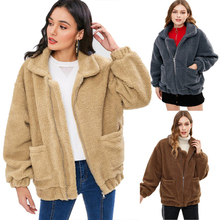 Get more info on the Maternity Winter Coat Keep Warm Long Loose Hooded Plush Coat for Pregnant Women Pregnancy Fur Lamb Coats