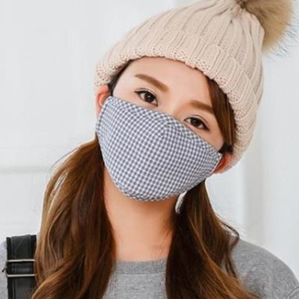 3Pcs Breathable Reusable Washable Anti Droplet Dust Proof Cotton Face Mask Cover Wind And Dust Resistance Against Viruses