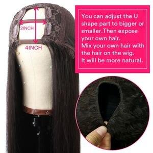 Image 4 - 360 레이스 정면 가발 변태 스트레이트 레이스가 발 브라질 인간의 머리가 발 150% 밀도 레미 레이스 프런트 인간의 머리가 발 여성을위한