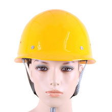 FRP Safety Helmet Construction Protective Helmets Anti-smashing Work Cap Breathable Labor Engineering impact resistance Hard Hat(China)