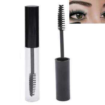 10mL Empty Black Eyelash Tube Mascara Cream Vial/Container Fashionable Refillable Bottles Makeup Tool Accessories