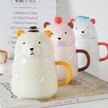 Christmas 400 Ml Mug  Coffee Cup  Lulu Lemon  Cute Mugs  Creative Cartoon  with Lid  Cups and Mugs lulu s christmas