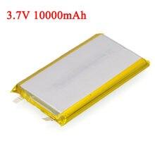 Computador da tabuleta da grande capacidade da bateria 3.7 mah do lítio do polímero 10000 v, baterias móveis de diy da fonte de alimentação