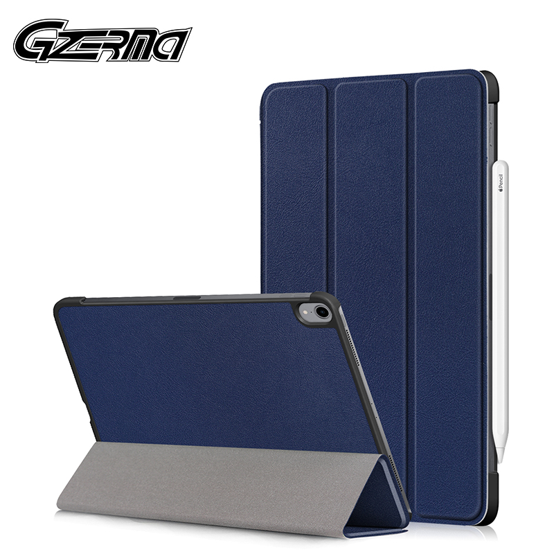 Gzerma <font><b>Case</b></font> For <font><b>iPad</b></font> Pro 11 2018 <font><b>Case</b></font> Smart Folding Stand Folio Cover For <font><b>iPad</b></font> Pro 11 <font><b>Case</b></font> 2018 <font><b>A1980</b></font> A2013 A1934 A1979 Tablet image