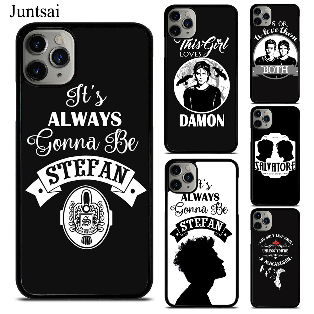 The Vampire Diaries <font><b>Originals</b></font> Mikaelson Always Forever Phone <font><b>Case</b></font> For <font><b>iPhone</b></font> X XS Max XR 7 8 SE 2020 6S Plus 11 Pro Max Cover image