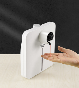 Automatic Wall Mounted Soap Dispenser Infrared Sensor Foam Gel Sprayer Dispensers Containers for Bathroom Washroom