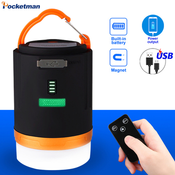 anti mosquito remote control waterproof camping light 4 2w outdoor led lamp torch usb rechargeable powerbank led camping light LED Camping Light USB Rechargeable Flashlight Portable Lamp Suspension Lamp Waterproof Remote Control Searchlight Outdoor Indoor