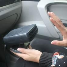 Elektrische Voorruitontwaseming Auto Elektrische Kachel Ventilator Koeling Verwarming Voorruitontwaseming Voorruitverluchting 12V/24V Droger Draagbare W9F7
