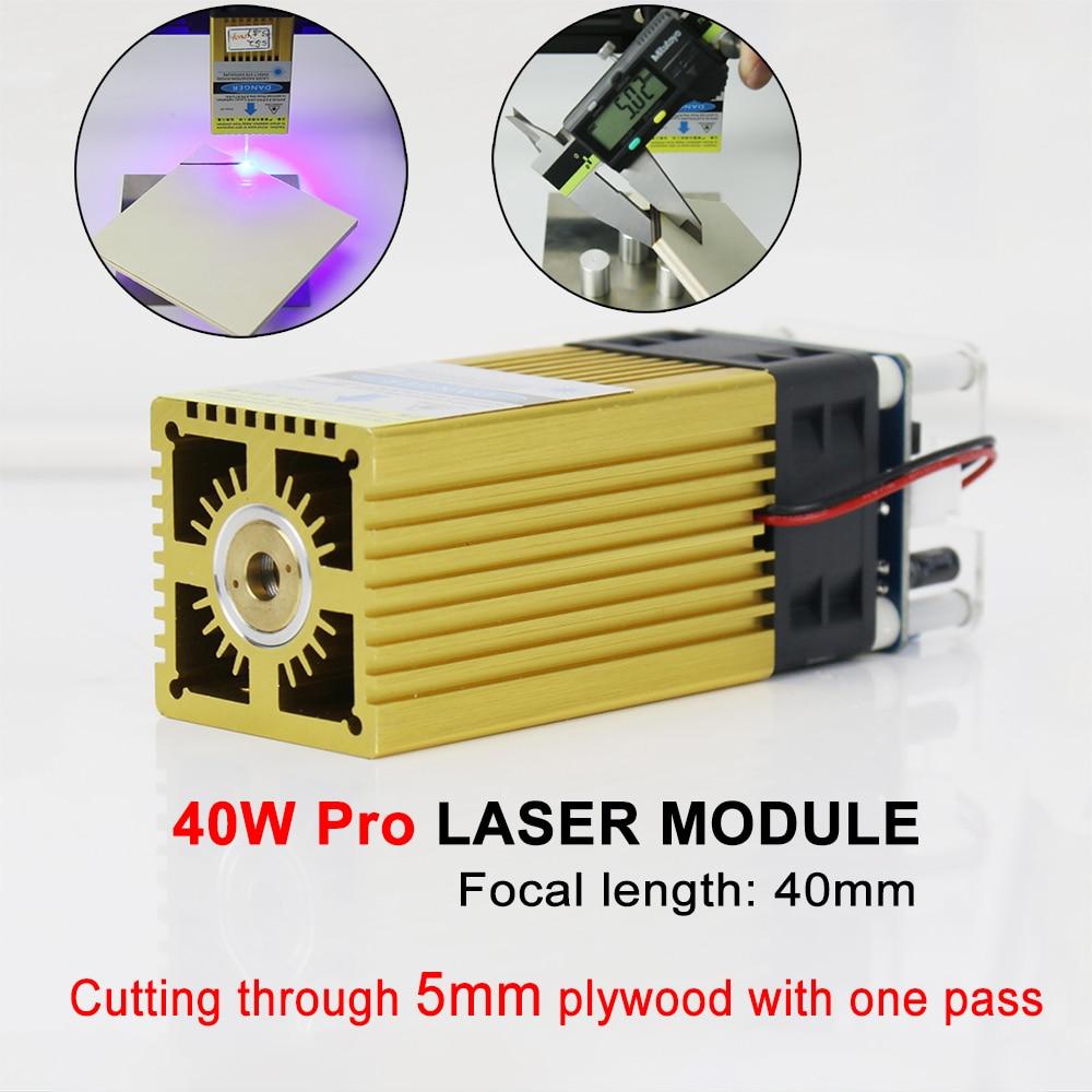 450nm 30W/40W laser module,laser cutter head, Focal Length 20-40mm Laser Module Compressed Spot Technology,cutting tool wood