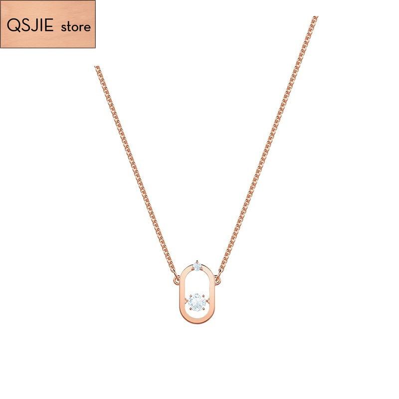 High-quality SWA original innovative Necklace ladies charm Classic Gold high-grade temperament