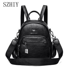 Fashion Bags For Women Small Backpack Multifunction Waterproof Anti-theft Multifunction Designer Travel Bolso Bandolera Mujer