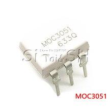 Новый оригинальный 10 шт./лот MOC3051 MOC3052 MOC3061 MOC3062 MOC3063 MOC3081 MOC3082 MOC3083 MOC3033 MOC3031 DIP-6