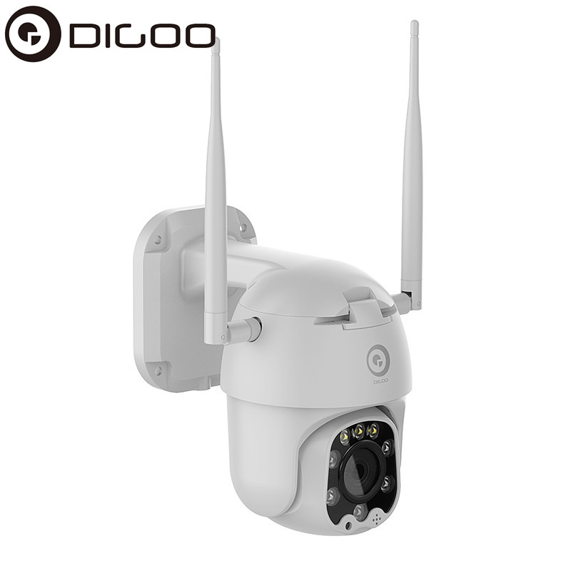 DIGOO DG-ZXC40 1080P PTZ IP Camera Wifi Outdoor Speed Dome Wireless Security Camera Pan Tilt 4X Digital Zoom 5MP Network CCTV