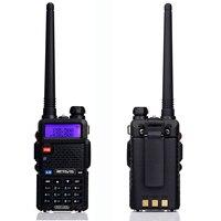 ווקי טוקי RETEVIS RT5R Handy מכשיר הקשר 5W VHF UHF VOX FM Ham חובב רדיו תחנת שני הדרך רדיו משדר ווקי טוקי לציד (2)