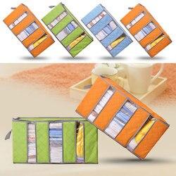 65L składany pokrowiec na koc szafa na ubrania z przezroczyste okienko OCT998 w Organizery do szuflad od Dom i ogród na