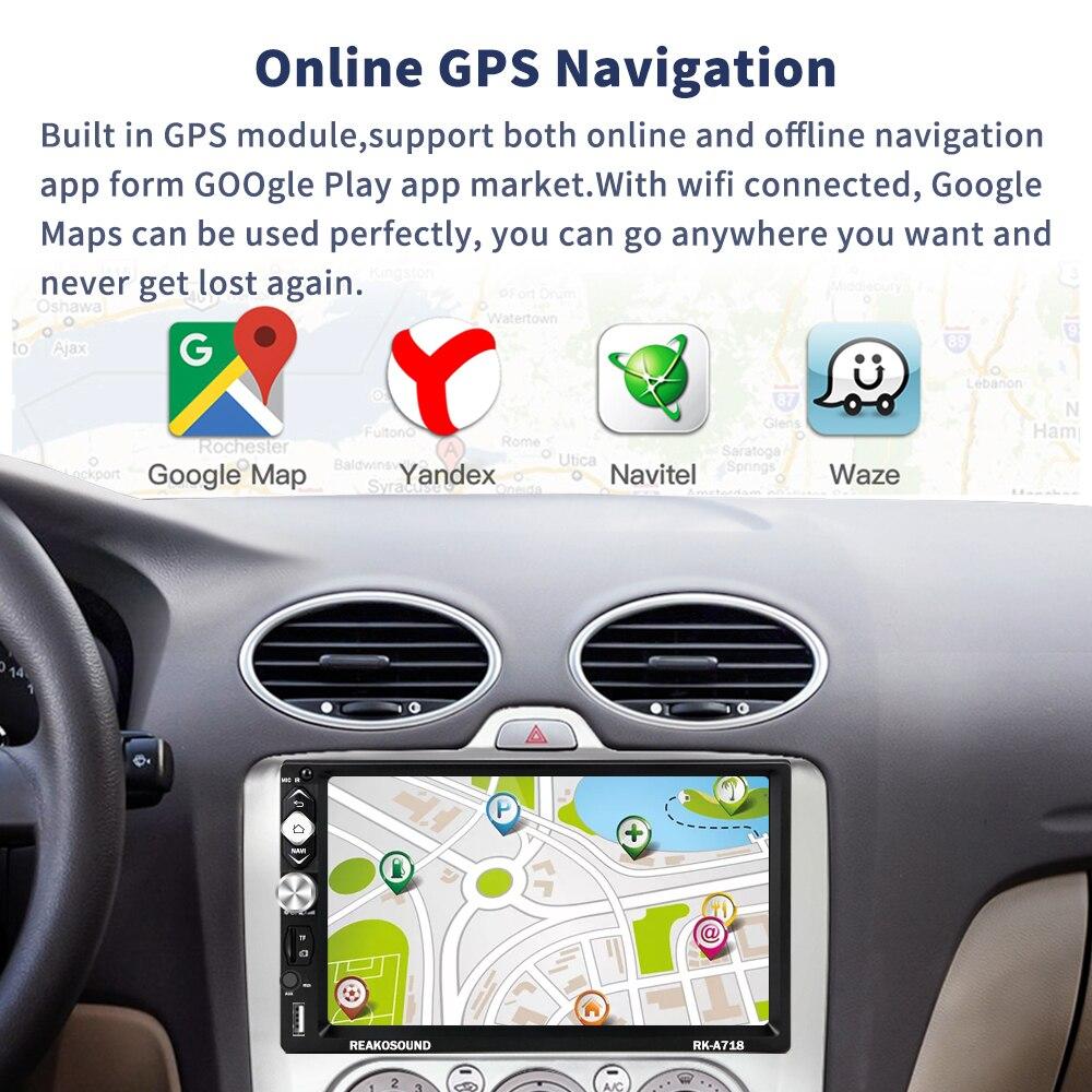 US $52 89 29% OFF LeeKooLuu 2 Din Android Car Radio GPS Navigation 7