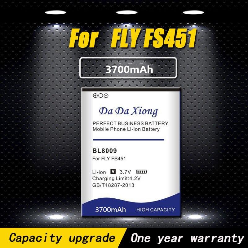 Haute qualité 2250mAh BL8009 Li-ion batterie de téléphone pour Fly FS451 Nimbus 1 batterie de téléphone