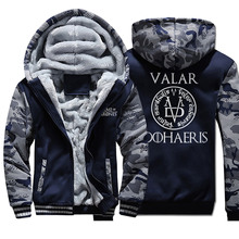 Game Of Thrones Coats Warm Thick Fleece Men Winter
