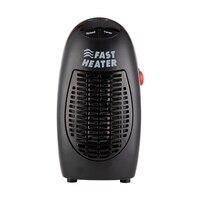 400 w mini ventilador aquecedor de parede montado aquecedor elétrico fogão aquecedor do radiador casa quarto ventilador aquecimento máquina para o inverno