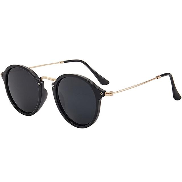 RBROVO-gafas De Sol redondas para mujer y hombre, anteojos De Sol femeninos De diseño, De alta calidad, Estilo Vintage, 2021 3